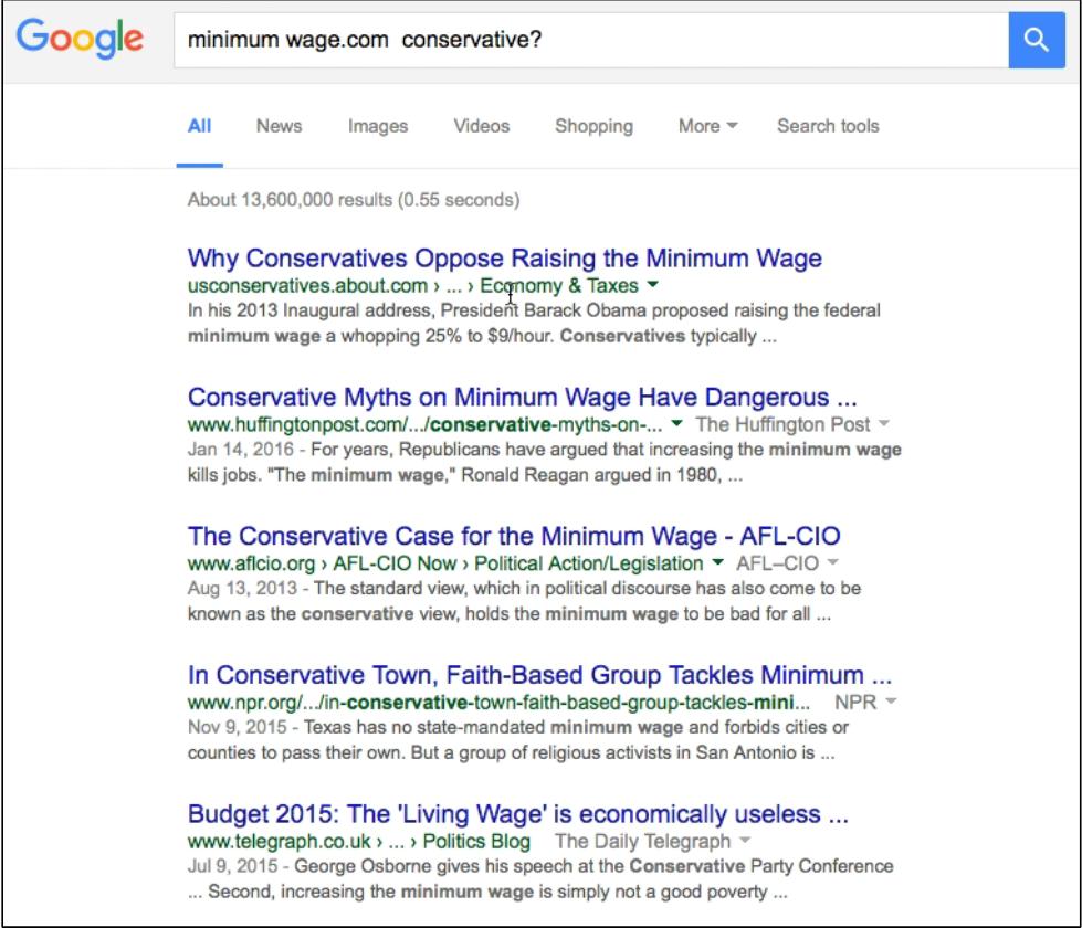 历史学家 K 对 [minimum wage.com conservative?] 的搜索结果